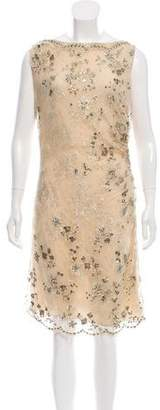 Valentino Embellished Midi Dress