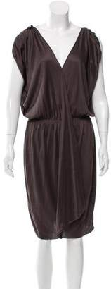 Lanvin Silk Midi Dress
