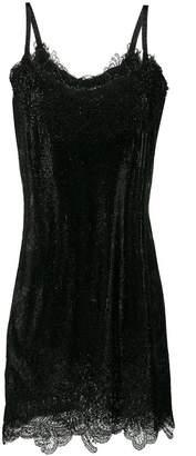 d2fbfdd8356 Ermanno Scervino rhinestone embellished mini dress