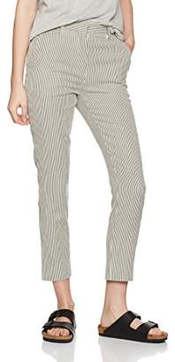 LE MONT SAINT MICHEL Women's 1967W Trousers, Blue Navy Stripes, (Size: 40)