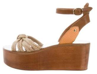 Etoile Isabel Marant Zia Wedge Sandals w/ Tags