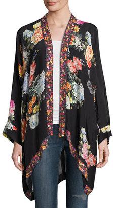 Johnny Was Jazzy Kimono-Style Printed Jacket, Plus Size $300 thestylecure.com