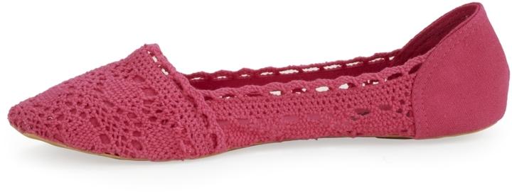 Charles Albert Crochet Flat