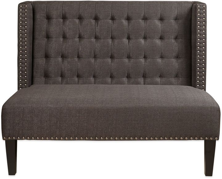 Bed Bath & BeyondPulaski Southern Comfort Upholstered Banquette in Dark Grey