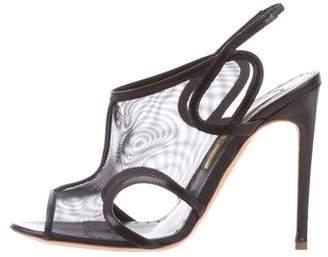 Rupert Sanderson Mesh Slingback Sandals