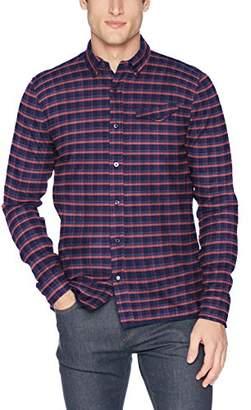 Scotch & Soda Men's AMS Blauw Regular Fit Pure Indigo Shirt