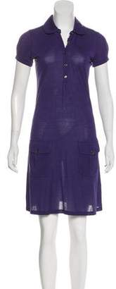 Burberry Cotton Polo Dress
