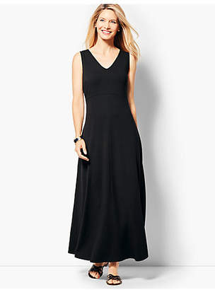 Talbots Casual Jersey Maxi Dress