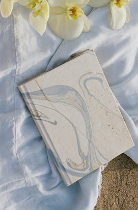 Lily Ashwell Marble Journal - Blue