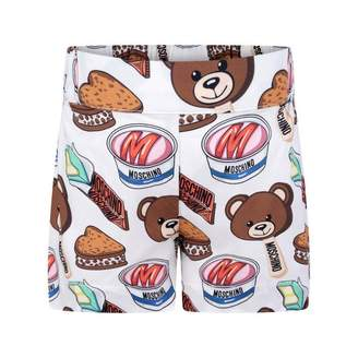 Moschino Girls Teddy Sweet Treats Shorts