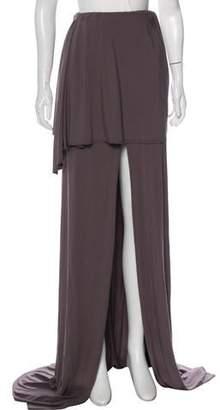 Baja East Accented Maxi Skirt