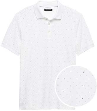 Banana Republic Luxury-Touch Dot Polo