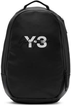 Y-3 Y 3 Black Logo Backpack