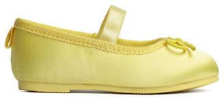 H&M Ballet Flats - Yellow