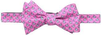 Tommy Hilfiger Men's Flamingo Print Self Tie Bow Tie