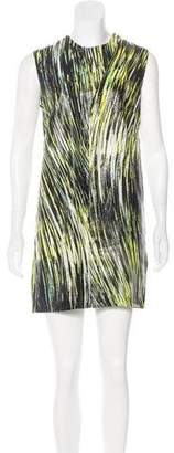 Kenzo Metallic Silk Dress