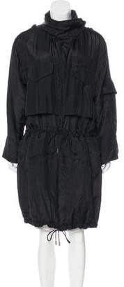 Stella McCartney Padded Silk Coat w/ Tags