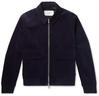 Mr P. Cotton-Corduroy Blouson Jacket