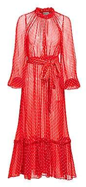 Zimmermann Women's Ninety-Six Polka Dot Silk Dress