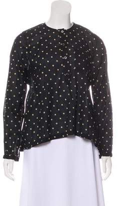 Isabel Marant Polka Dot Long Sleeve Top
