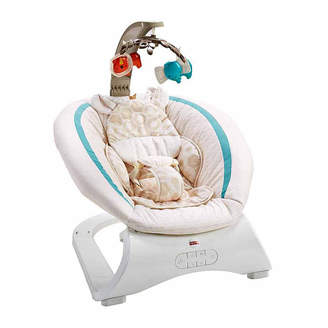 Fisher-Price Deluxe Bouncer Soothing Savanna