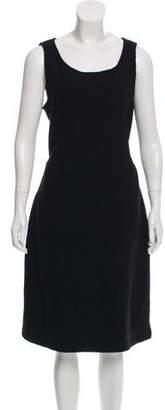 Armani Collezioni Wool Midi Dress