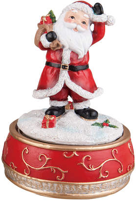Transpac Traditions Santa Music Box