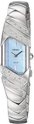 Seiko Women's 'TRESSIA' Quartz Stainless Steel Casual Watch