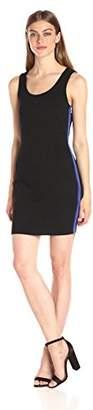 Armani Exchange A|X Women's Scoop Neck Sleeveless Above The Knee Bodycon Dress