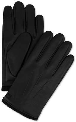 Calvin Klein Men Triple Point Knit-Cuff Gloves