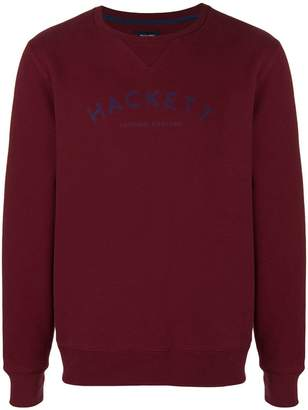 Hackett logo print sweatshirt