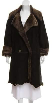 Sylvie Schimmel Heavy Shearling Coat