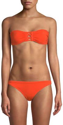 Proenza Schouler Women's Bandeau Bikini Top and Bottom Set