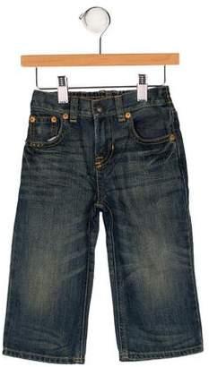 Polo Ralph Lauren Boys' Flat Front Elasticized Jeans