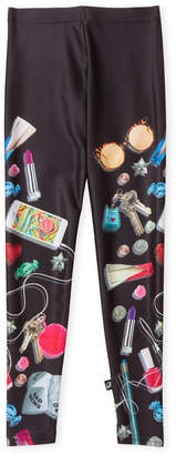 Zara Terez Girls 7-16) Black Printed Leggings