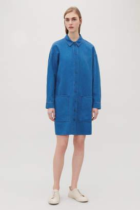 Cos DENIM SHIRT DRESS