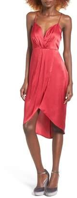 ASTR the Label Satin Slip Dress