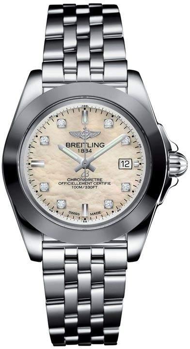 Stainless Steel Galactic Sleek Quartz Watch 32mm
