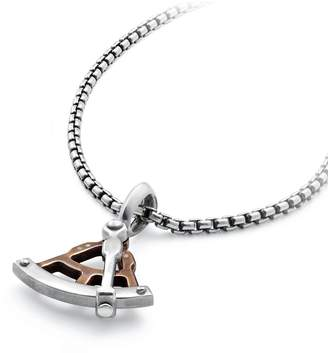 David Yurman Maritime(R) Sextant Amulet with Bronze