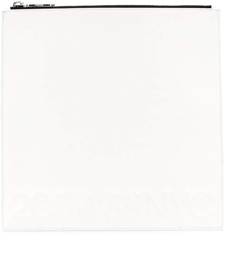 Calvin Klein 205W39nyc square design clutch