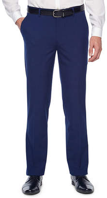 Jf J.Ferrar Bright Blue Stretch Slim Fit Suit Pants