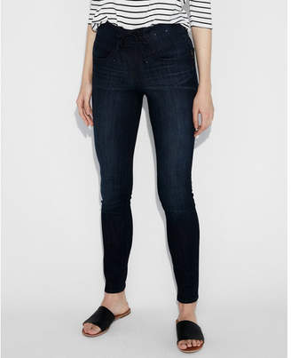 Express high waisted corset front stretch jean leggings