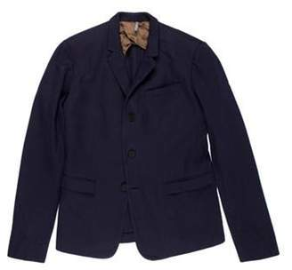 Christian Dior Notch-Lapel Sport Coat navy Notch-Lapel Sport Coat