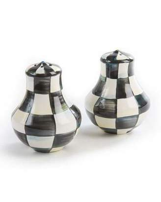 Mackenzie Childs MacKenzie-Childs Courtly Check Enamel Salt & Pepper Shakers