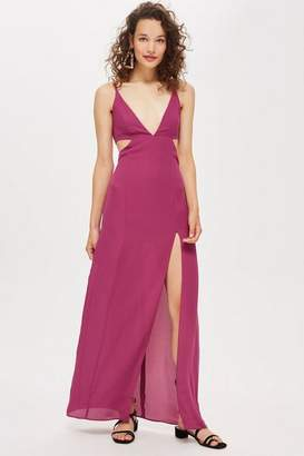 Topshop Cut Out Side Maxi Dress
