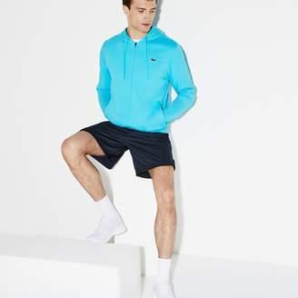 Lacoste Men's SPORT Miami Open Hooded Fleece Tennis Sweatshirt