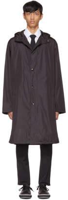 Prada Black Waterproof Nylon Rain Jacket