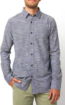 Tavik Space Dye Long Sleeve Button Down Shirt