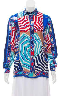 Emilio Pucci 2016 Button-Up Top w/ Tags