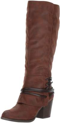 Fergalicious Women's Lexis Wide Calf Western Boot